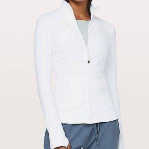 Lululemon white define jacket